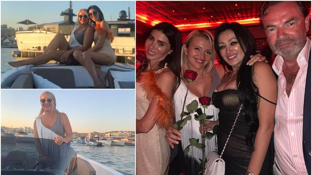 Snježana Mehun je luksuznim brodom vozila goste u Canessu