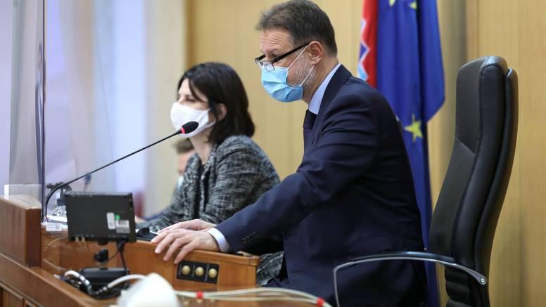 Jandroković: Sabor će od 16. do 18.12. izvanredno zasjedati