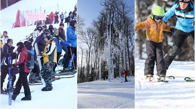 Sezona skijanja na Sljemenu