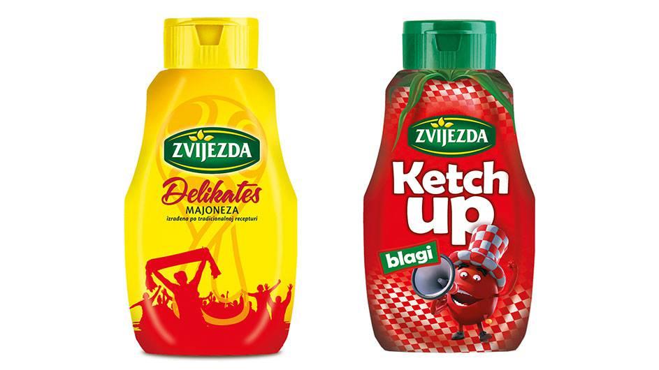 Ketchup i majoneza najbolji navijački par!