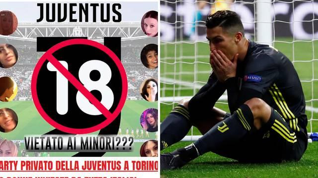 Igrači Juventusa nakon poraza od Atletica partijali sa 60 cura