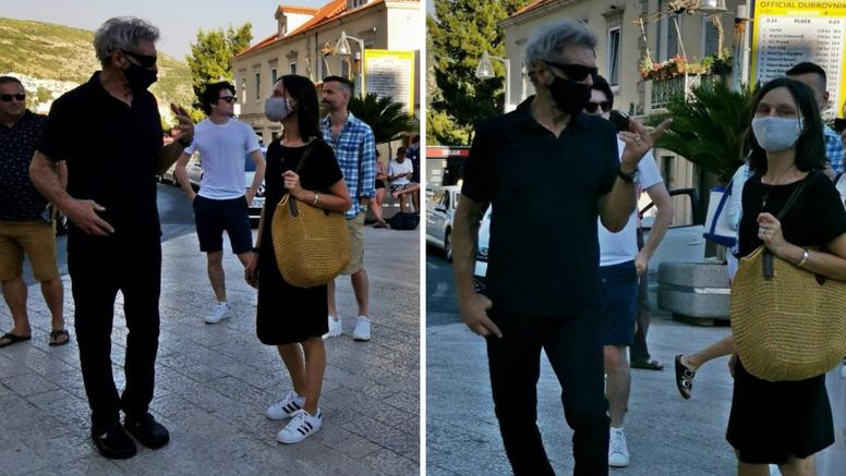 Glumci Harrison Ford i Calista Flockhart ljetuju  u Dubrovniku