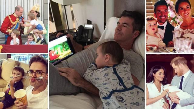 Pogledajte najslađe trenutke poznatih očeva i njihove djece