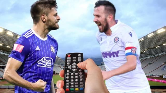 Evo gdje možete gledati veliki derbi između Hajduka i Dinama