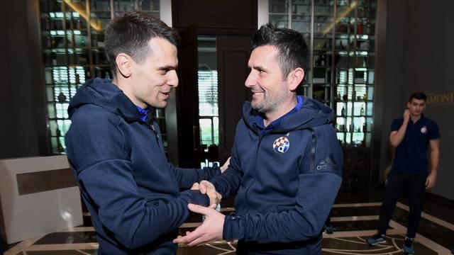 Belek: Ekipa GNK Dinamo srdačno dočekala Komnena Andrića, svog novog napadača