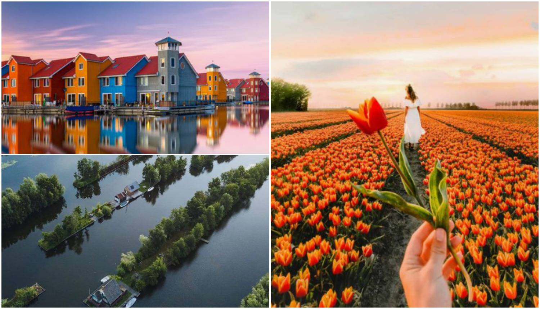 Nizozemske ljepote: Od polja tulipana do kućica na jezeru