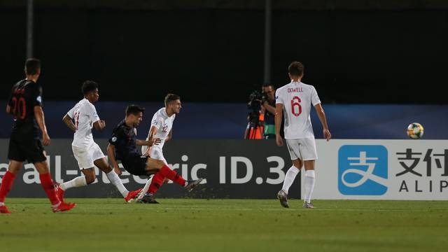 Croatia v England - 2019 UEFA European Under-21 Championship - Group C - San Marino Stadium