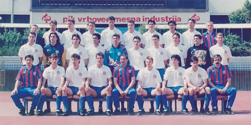 Prva HNL '92.: Rat je bjesnio, a jaki Hajduk vladao prvenstvom