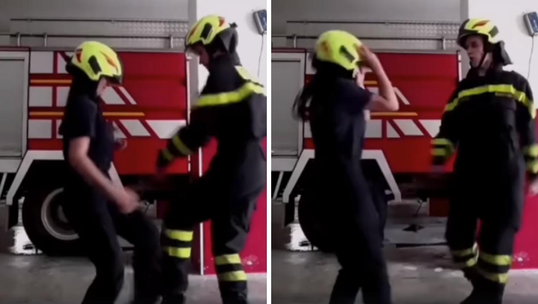 Uz ples je sve lakše: Vatrogasci iz Kaštela se pridružili izazovu