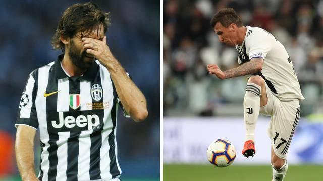 Pirlo krivi Mandžukića, a ni on Juveu nije donio Ligu prvaka