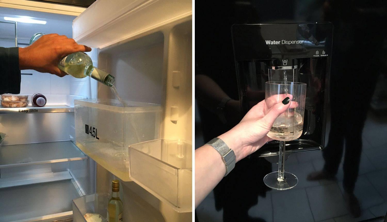 Oduševila se idejom: U dozator za vodu u hladnjaku ulila vino