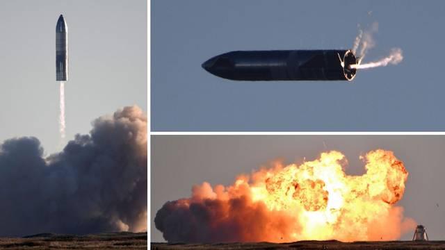 'Mars, stižemo!': Spektakularno lansiranje nove rakete završilo eksplozijom, a Musk presretan