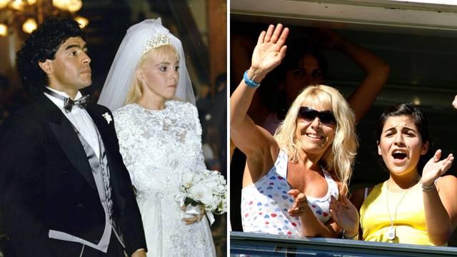 Bivša žena i kćeri u šoku! Diego Maradona izbacio ih iz oporuke