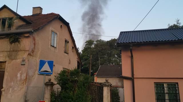 Požar u Zagrebu: Zapalila se napuštena kuća na Trešnjevci