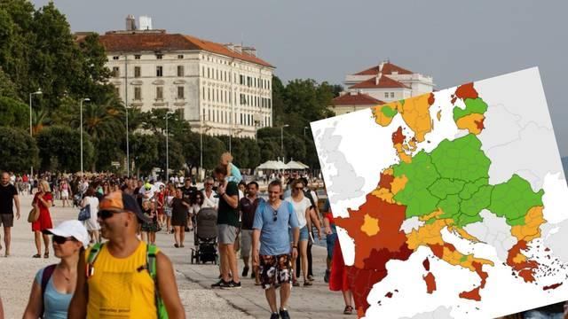 Beroš: 'Hrvatska je ostala u narančastom na korona karti'