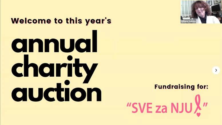 Blagdanska humanitarna aukcija: Studenti RIT Croatia prikupili više od 22.000 kuna