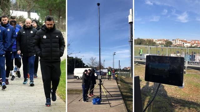 Devetorica u petak za Zagreb; trening snimaju sa 16m visine