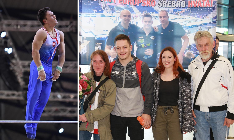 Tin Srbić se vratio u Zagreb: Ljudi, izgubili su mi medalju!