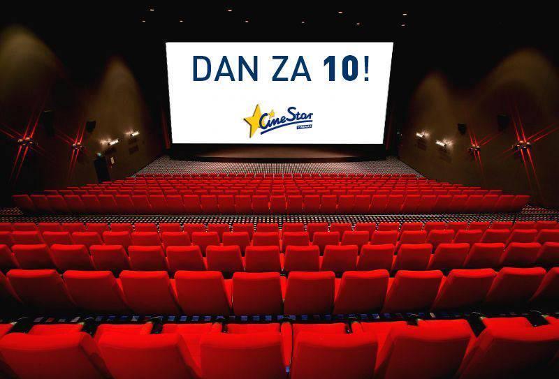 'Dan za 10': Najbolji kino dan u godini još jednom je pred nama