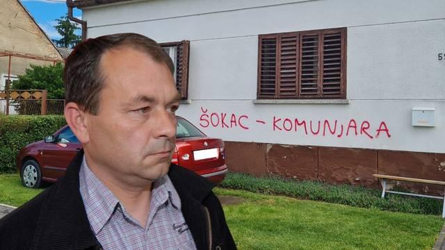 Skandal kod Slavonskog Broda: Načelniku probušili gume, a na kući napisali 'Šokac komunjara'