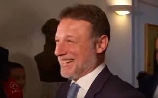 Jandroković na pitanje o Žalac odgovorio  pjesmom i smijehom