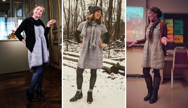 Nosila je istu haljinu 100 dana zaredom: 'Nekima je odvratno'