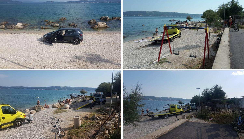Turisti zapeli na plaži pa zvali vučnu službu, i ona je zapela...