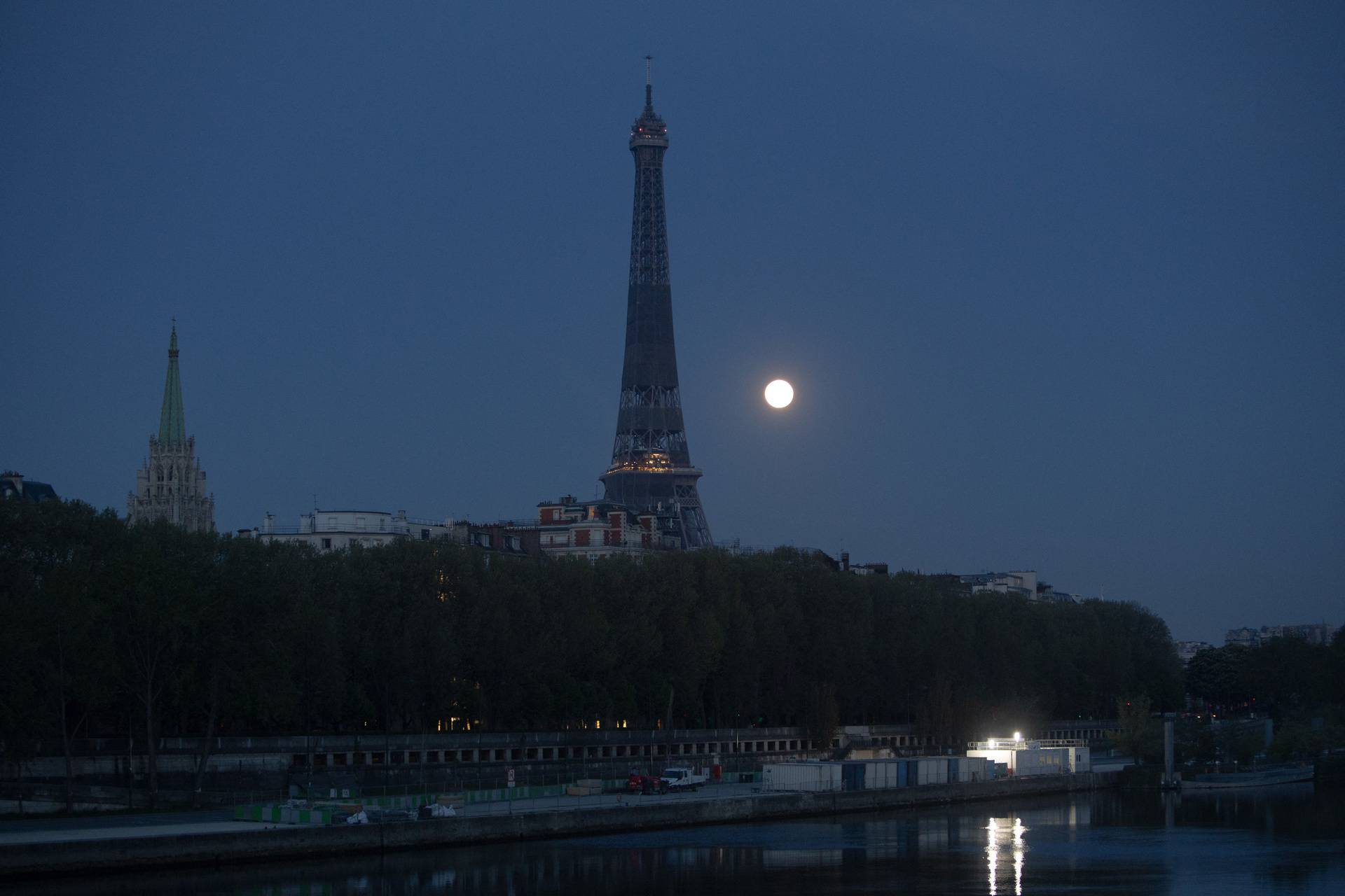 Pink Supermoon Set - Paris