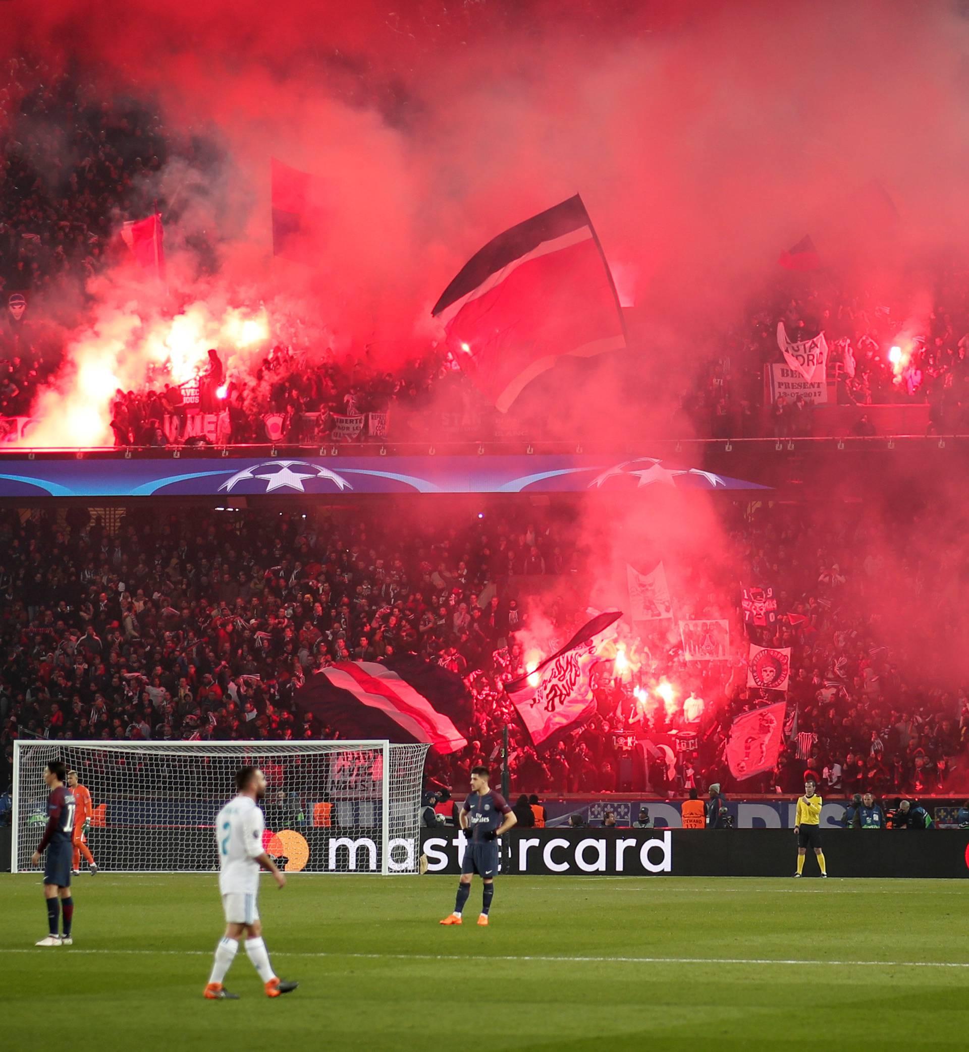 Champions League Round of 16 Second Leg - Paris St Germain vs Real Madrid