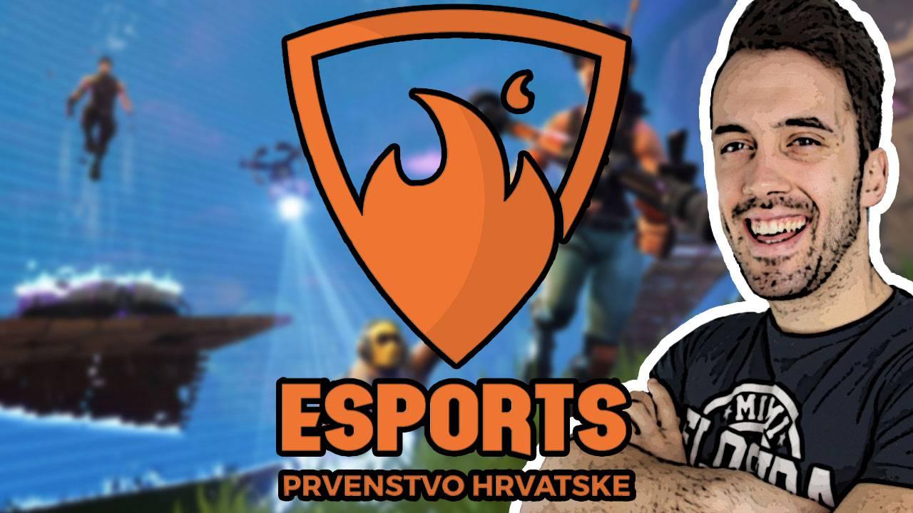 Fortnite uživo: Gledajte 2. kolo Esports Prvenstva Hrvatske!