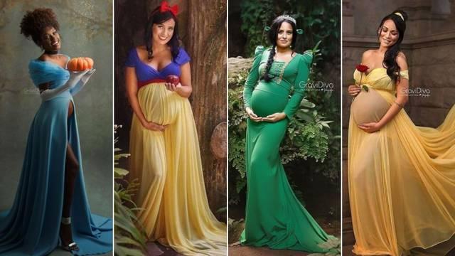 Buduće majke pretvorila je u prekrasne Disneyjeve princeze