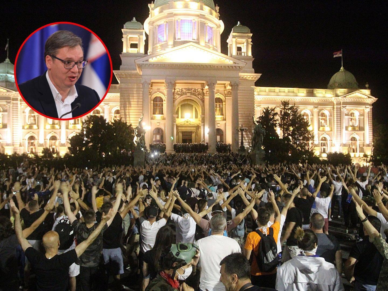 Pred Srbijom su loši dani, a narod mu viče - Vučiću, ustašo!