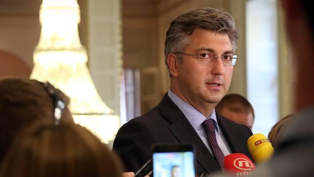 """Plenković: """"Najveći problem je pronaći prostor za EMA-u"""""""