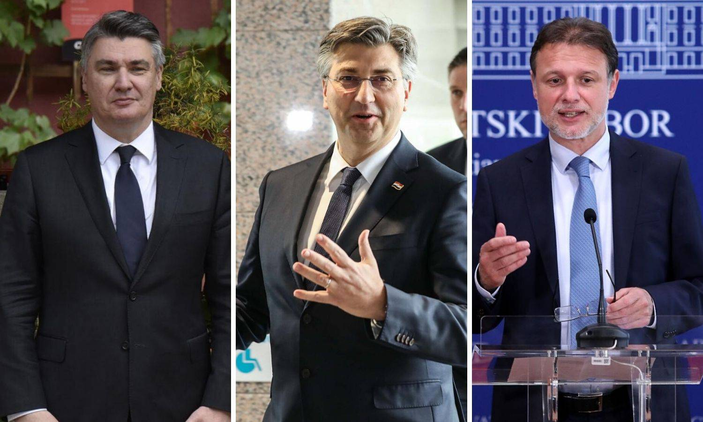 Najviše podupiremo Milanovića pa Plenkovića, Jandrokovića ne