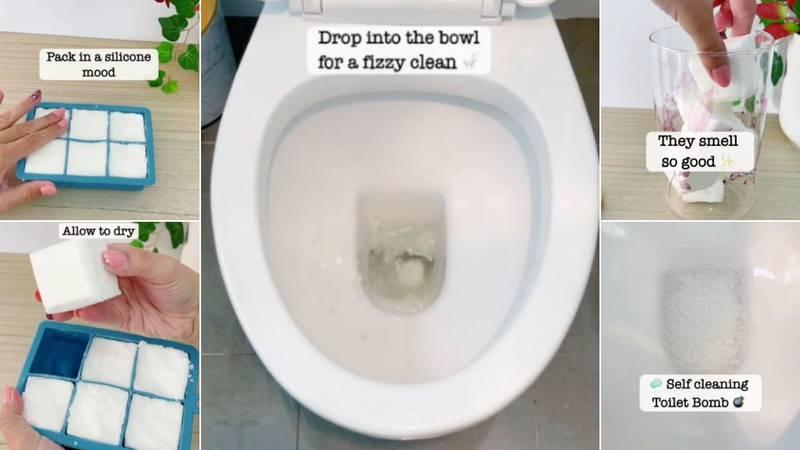 Želite čist i mirišljavi toalet? Pogledajte video kako kod kuće napraviti mirisnu WC bombicu