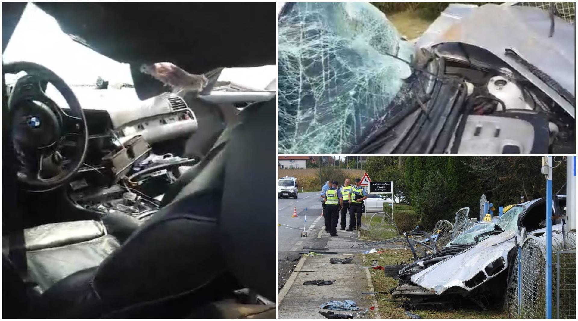 Alkohol kumovao nesreći kraj Čazme: Vozač se nije niti vezao!