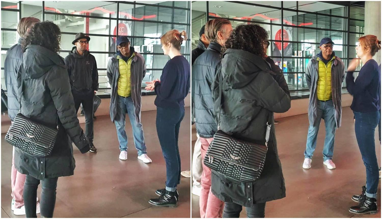 Jackson posjetio MSU. Kultura u pauzi od napornih snimanja...