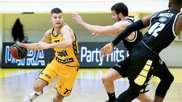 Utakmica 13. kola košarkaške ABA lige KK Split - KK Partizan