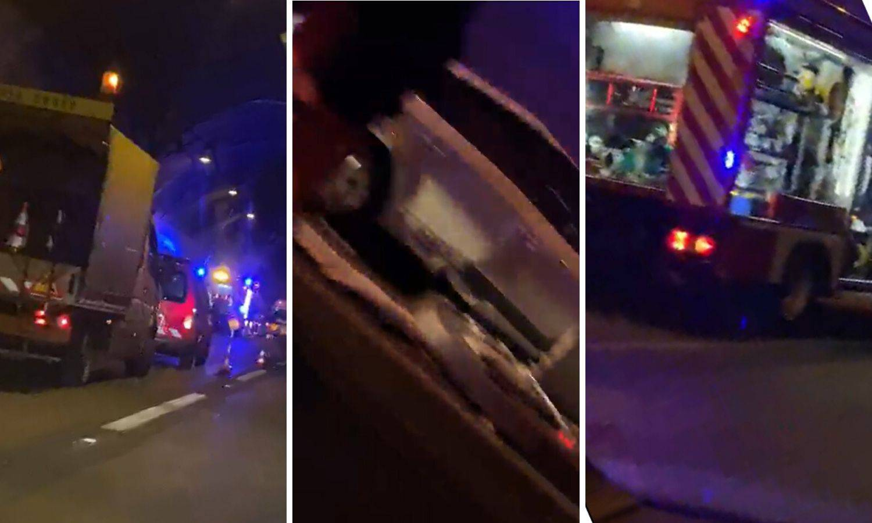Teška nesreća u tunelu Mala Kapela: Poginuo vozač auta