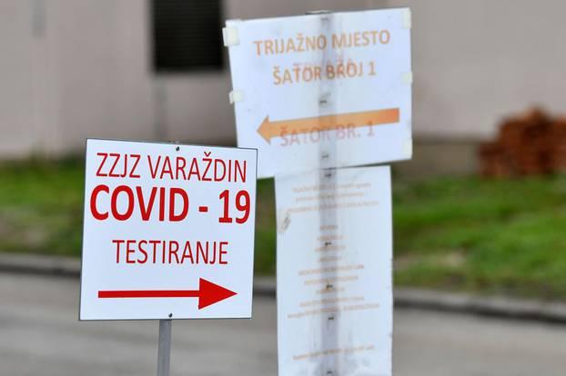 U Varaždinskoj županiji 107 noozaraženih, šest preminulih