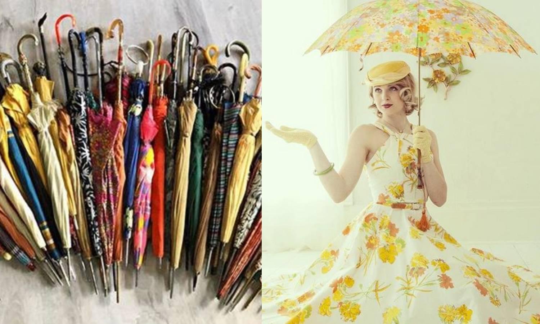 Kišobrani: Danas nužda, a u pedesetima chic modni dodatak