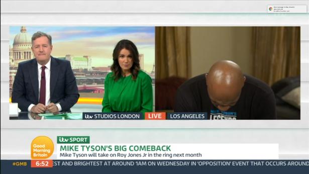 Tyson: Nisam bio drogiran nego umoran. Zaboravio na kameru