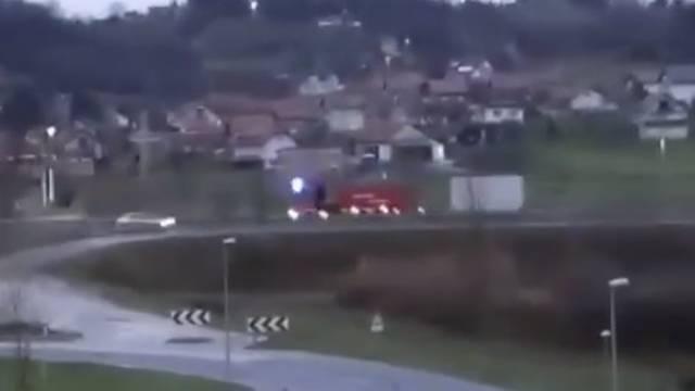 VIDEO Danke, Austrija! Cijeli konvoj pomoći za Banovinu
