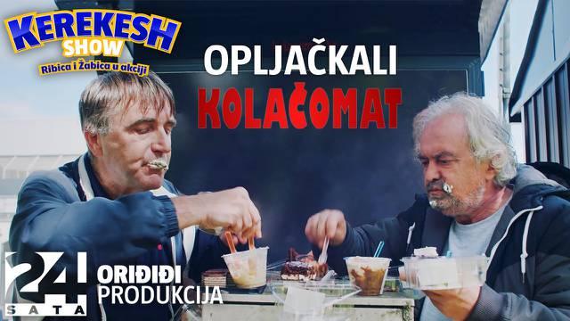 Ljubomir Kerekeš i Darko Janeš o pljački kolačomata: 'Mislim da ćemo završtiti u Remetincu!'