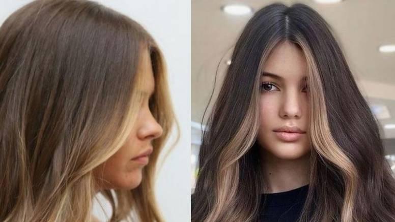 Frizura koju vole tinejdžerke: Dva svijetla pramena oko lica
