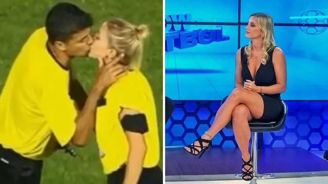 Najzgodnija sutkinja na svijetu poljubila glavnog suca u usta