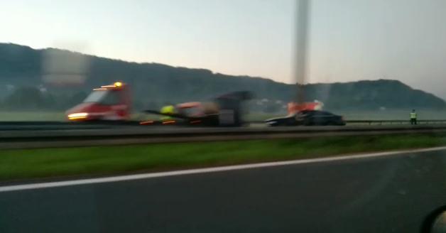 Dvoje ljudi ozlijeđeno u nesreći na A2, prometna i kod Popovca