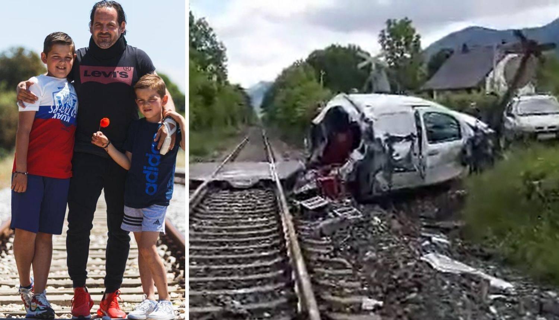 Vlak raspolovio auto: 'Zaštitili smo sina tijelima, ovo je čudo'