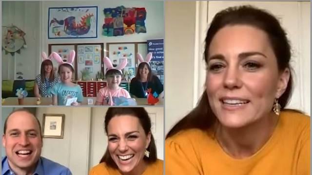 Što možemo naučiti? Make up Kate Middleton na Zoom chatu