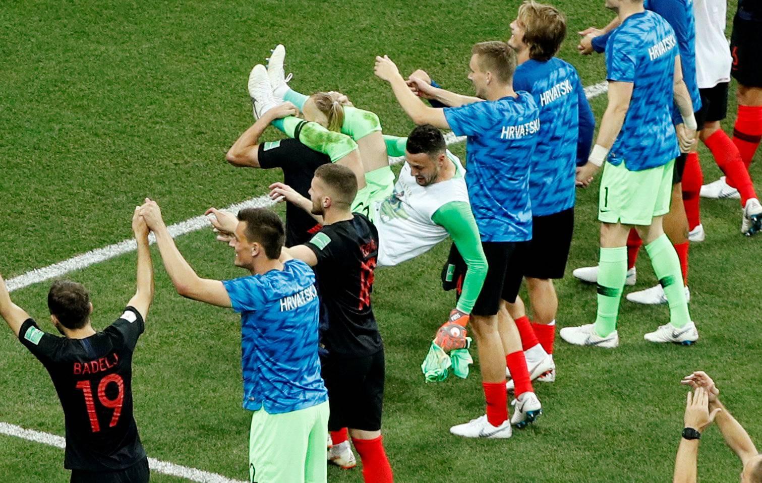World Cup - Round of 16 - Croatia vs Denmark